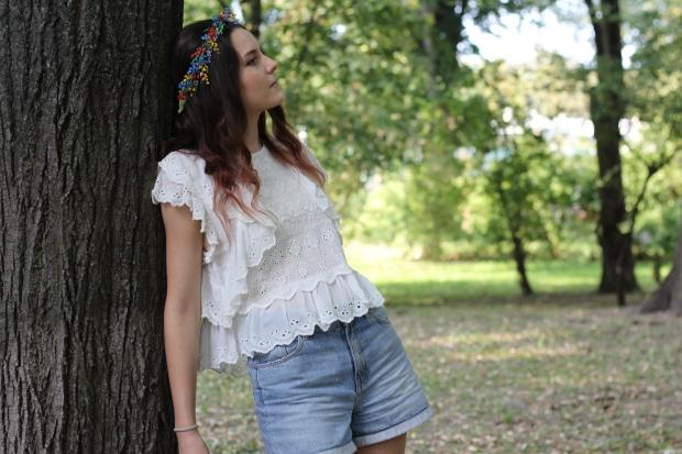 Bohemian style hair accessories